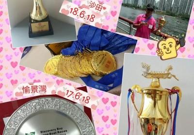 2018年6月10日(梅窩)及6月17日(愉景灣)及8月19日(鴨脷洲) 龍舟競賽(小龍)