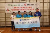 女子團體亞軍-中國建設銀行
